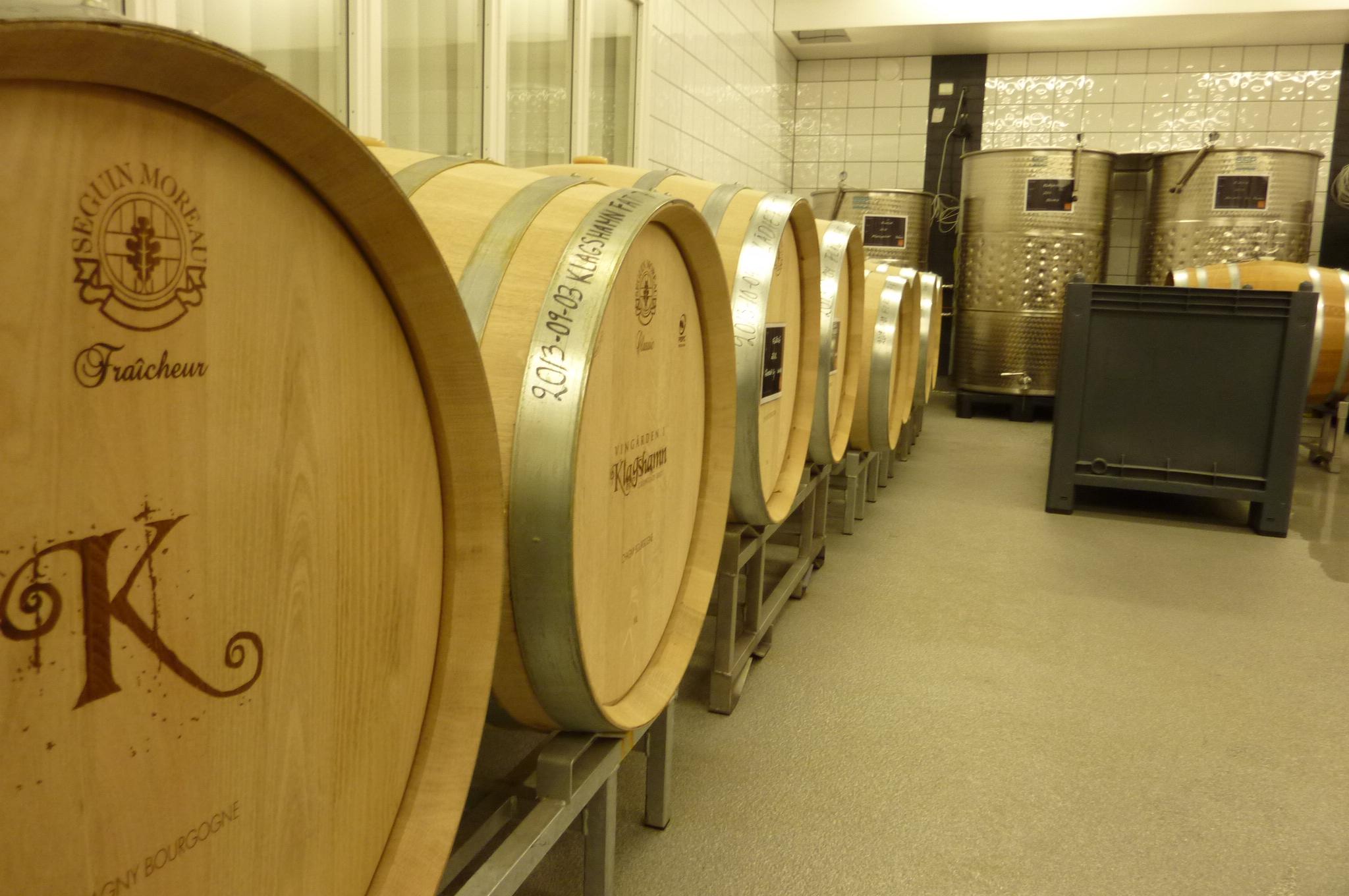 Ekfat inne i vineriet
